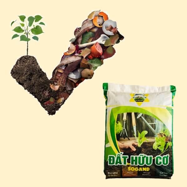 đất thịt hữu cơ