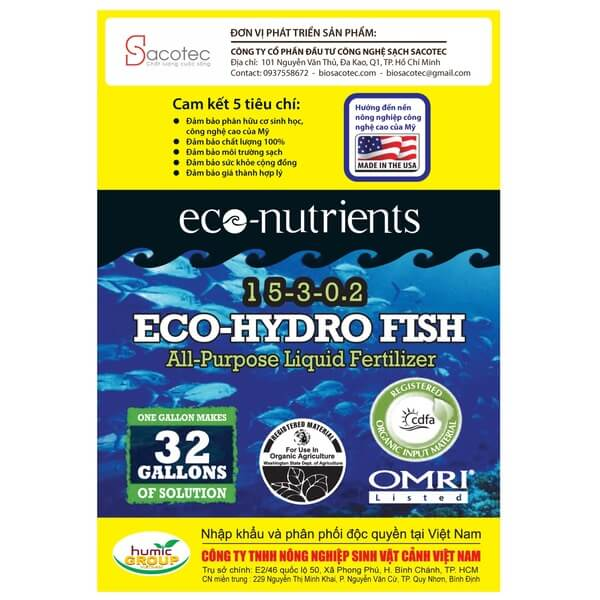 eco hydro fish sau