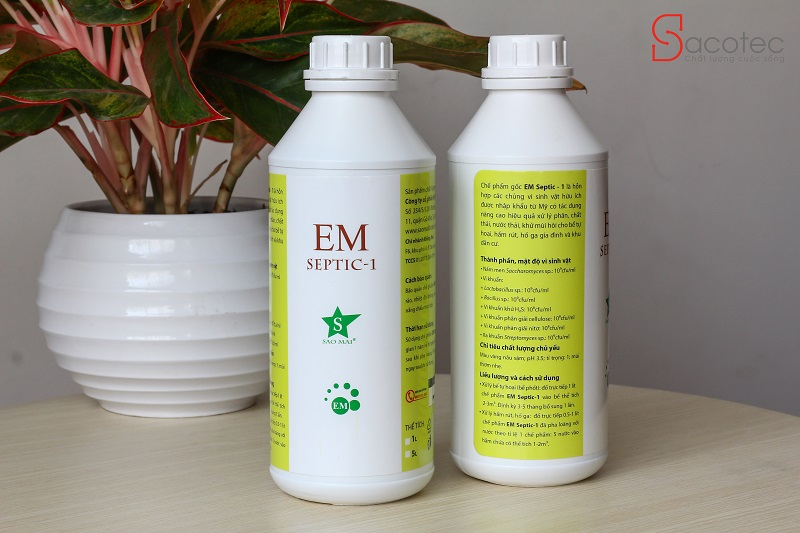 Chế phẩm EM SEPTIC 1