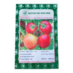 Hạt giống cà chua bi lùn F1 quả đỏ