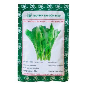 Hạt giống cải ngọt cao sản Biot 100