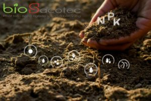 hands men are holding soil rich all elements needed grow plants have digital icons included 38663 638